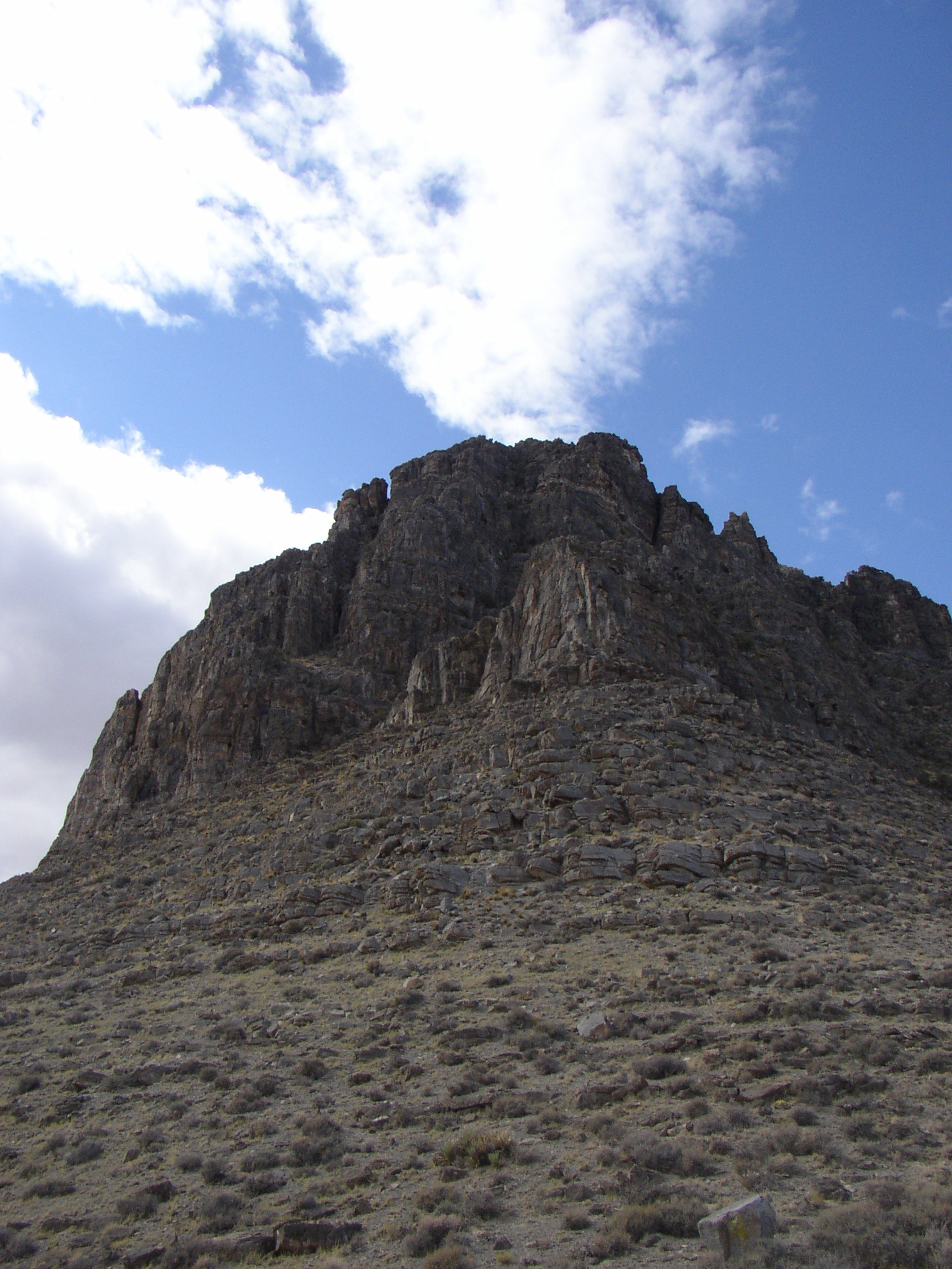 Photo of the Notch Peak Formation, in Lawsons Cove, Utah.