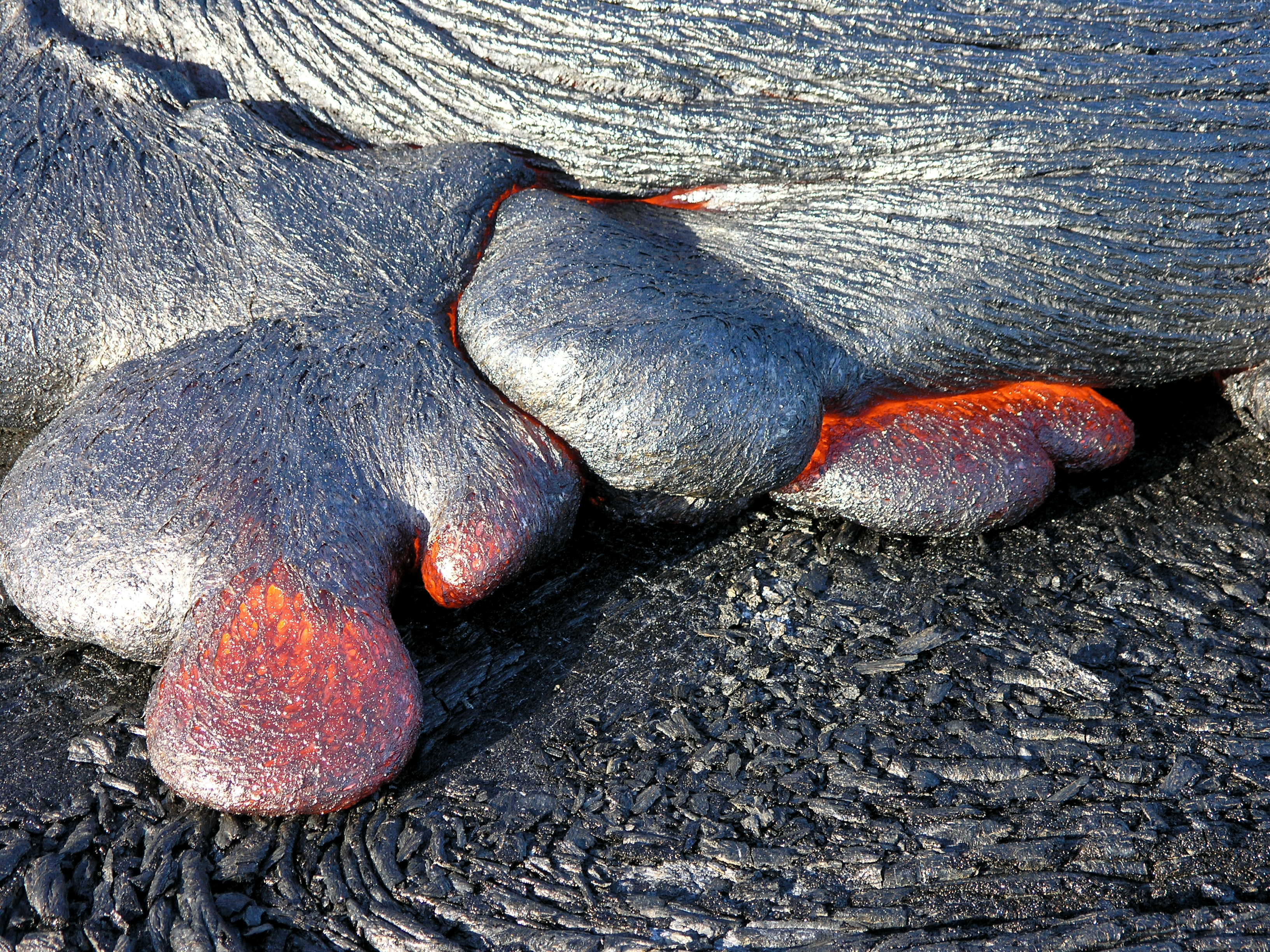 Multimedia Gallery Pahoehoe Lava Toes Nsf National