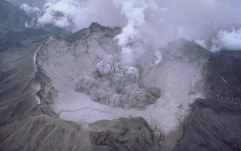 Mount Pinatubo's 1991 eruption and its effects masked sea level rise.