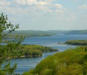 Forests around Quabbin Reservoir in Massachusetts