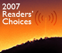 2007 Readers' Choices