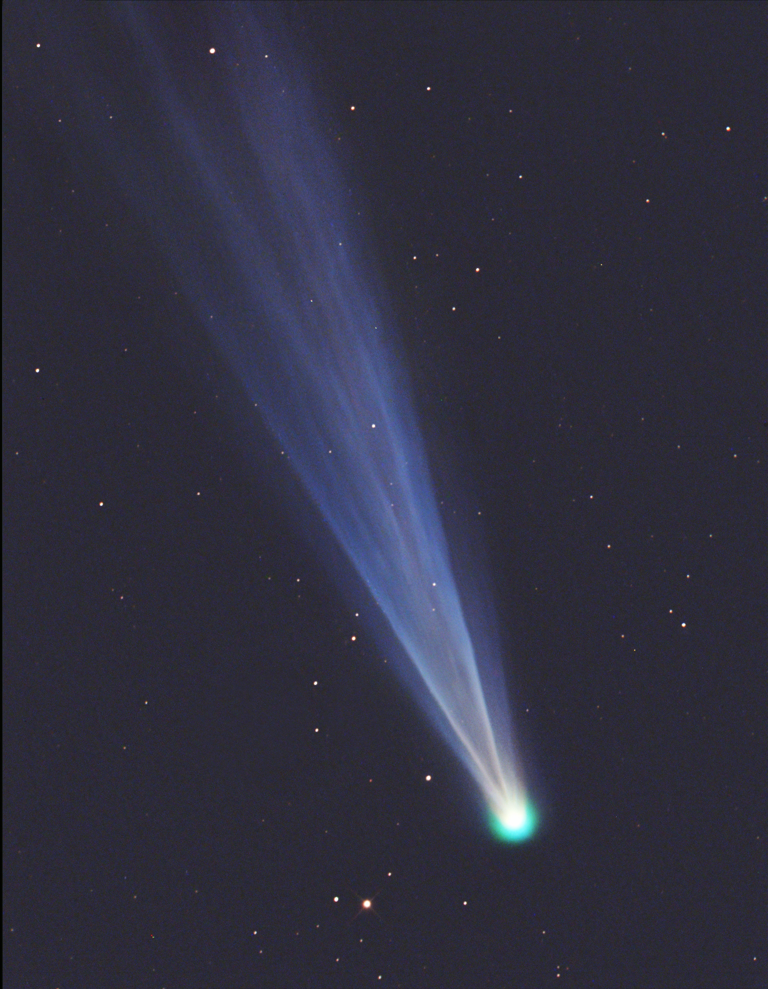 Global perspectives on a comet- All Images | NSF ...