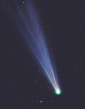 Comet C/2012 S1 ISON as seen through the telescope