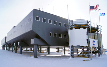 The National Science Foundation's Amundsen-Scott South Pole Station.