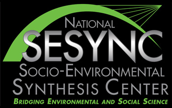 National SESYNC Socio-Environmental Synthesis Center logo.