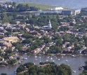 Aerial vew of Annapolis, Md.