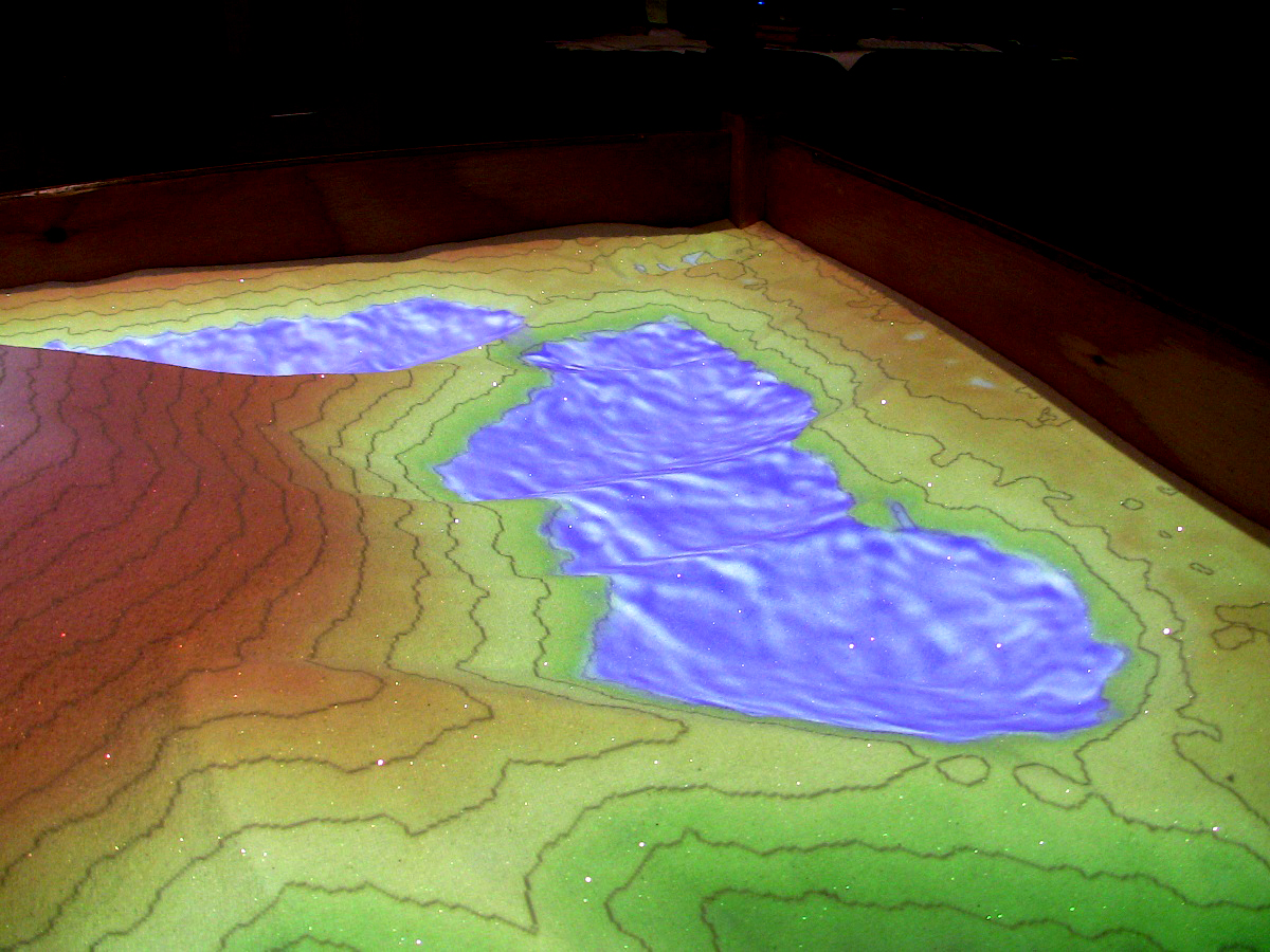 Multimedia Gallery - Augmented Reality Sandbox (Image 11) | NSF ...