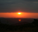 A typical view, the researchers say, of sunset over the Rukwa Rift Basin.