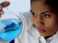 Woman scientist.