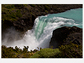 The Salto Grande waterfall in the Torres del Paine National Park, Chile