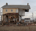 Home in Union Beach, N.J., destroyed by a Hurricane Sandy storm tide in 2012.