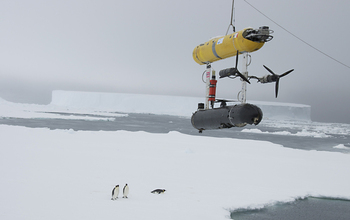 research isntrument SeaBED deployment in antarctica