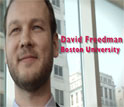 David Freedman, Boston Univerity