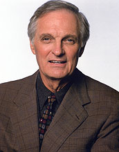 Actor Alan Alda received the National Science Board's 2006 Public Service Award.