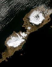 Alaska's Umnak Island in the Aleutians