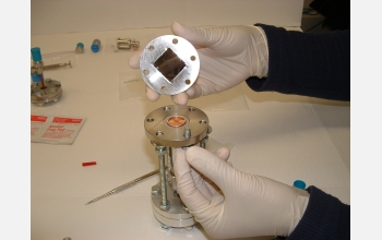 Wafer Test Fixture that the researchers used to test the new porous-silicon diode