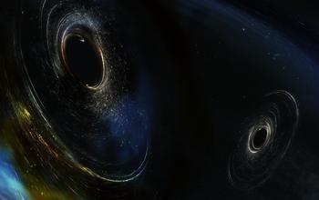 Dancing duo of black holes.
