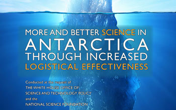 More and Better Science in Anatarctica through Increased Logistical Effectiveness and an iceberg.