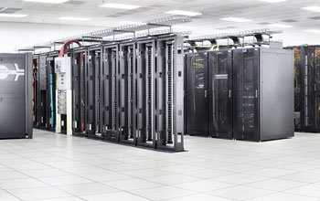 Panoramic image of the Blue Waters super computer system