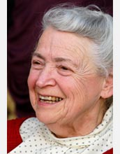 Photo of Mildred S. Dresselhaus, 2009 Vannevar Bush Awardee.