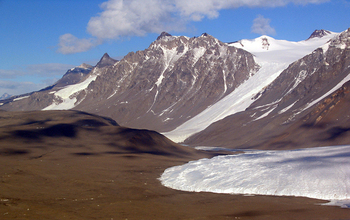 The Canada Glacier in the McMurdo Dry Valleys.