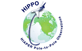 HIPPO logo, or HIAPER Pole-to-Pole Observations