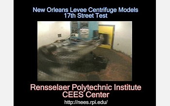 Video showing the RPI centrifuge experiment is available at http://www.rpi.edu/news/levees/