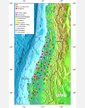 Seismometers and other instruments have been installed in the quake's rupture region.