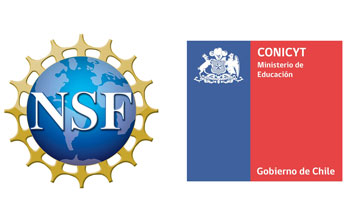 NSF and CONICYT logos