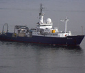 Photo of the research vessel Melville.
