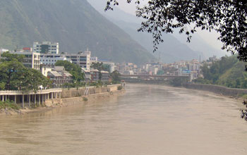 housed in the town of Liuku on the Salween (Nu) River banks in Yunnan.