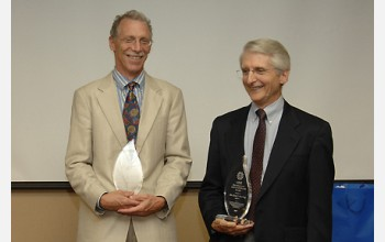 The 2007 CISE Distinguished Education Fellows, Owen Astrachan and Peter Denning