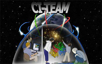 NSF CI-TEAM awards support global research and education activities in cyberinfrastructure.