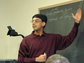 Manjul Bhargava in the classroom