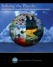 Cover of Solving the Puzzle: Researching the Impacts of Climate Change Around the World.