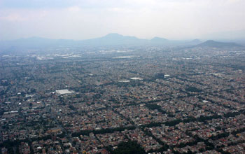 Photo of Mexico City.