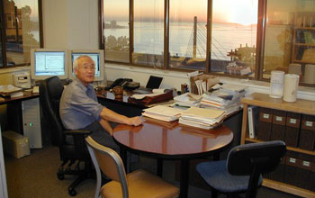 Photo of Masao Kanamitsu of Scripps Institution of Oceanography.