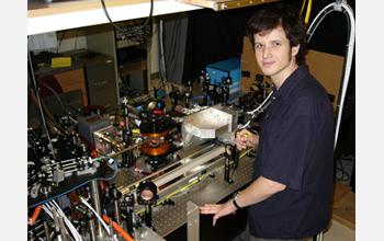 Photo of David McKay, graduate student in Brain DeMarco's lab.