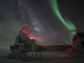 The Aurora Australis, or Southern Lights