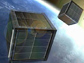 Illustration of CubeSats used in space weather and atmospheric research orbiting the Earth.