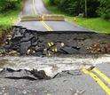 Such extreme rainfall events result in widespread risks to infrastructure, such as roads.