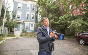 Social scientist and ethnographer Matthew Desmond's research methods include living in the communities where he studies eviction.