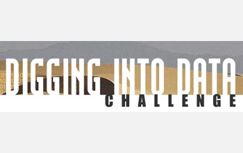 Digging Into Data Challenge logo.