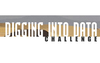 Digging into data challenge banner