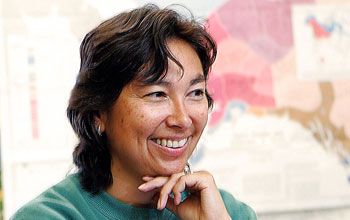 Image of Deanna Paniataaq Kingston, a professor of anthropology at Oregon State University.