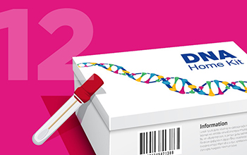 DNA home testing kit
