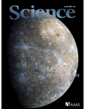 Cover of July 4 issue of Science Magazine.