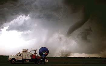 Doppler on Wheels has caught dozens of  tornadoes in action.