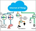 diagram showing various devices and how they are connected in the Internet of Things