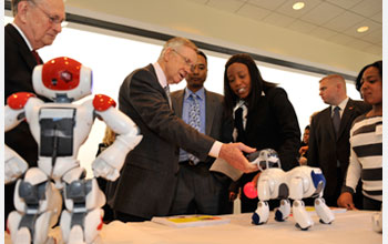 Spelman robots on Capitol Hill